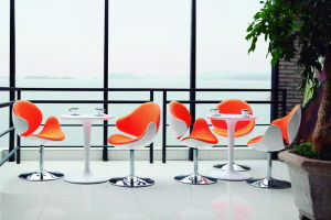 Swivel Hotel Lobby Chair Fiberglass Office Chair pictures & photos