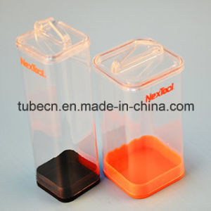 Clear Packaging Square Plastic Tube pictures & photos