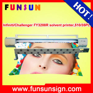 Challenger Infiniti Fy3208r 3.2m Flex Banner Solvent Printer with 720dpi pictures & photos