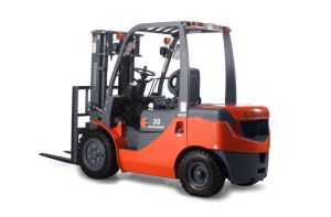 3.0 T Diesel Forklift with Isuzu Engine CE Approved (FD30B-W1) pictures & photos