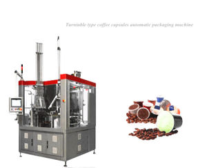 Coffee Capsules Automatic Packaging Machine Turntable Type