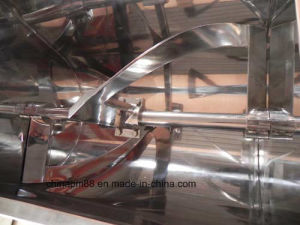 High Efficient Powder & Liquid Mixer/ Spiral Ribbon Blender (WLDH model) pictures & photos