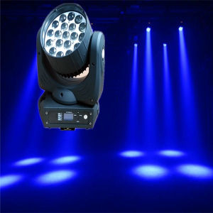 Wash & Beam Zoom Osram 4in1 RGBW 19PCS 12W LED Moving Head pictures & photos