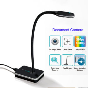 Teaching Equipment Gooseneck Design Eloam Document Camera Vh801af / Vh8001A3af, HDMI Document Camera pictures & photos