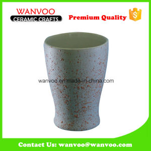China Manufacturer Promotional Ceramic Tooth Mug with Bead Oranement pictures & photos