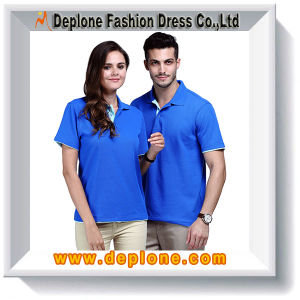Design Color Combination 100 Cotton Polo Shirt (ST1107)