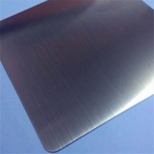 Brushed Black PVD Titanium Sheet Anti-Fingerprints 7c Protective Film, 304 Stainless Steel Color Plate pictures & photos