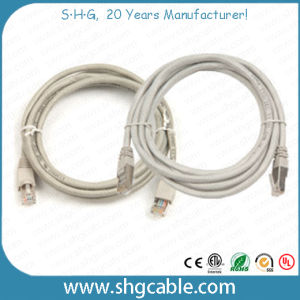 Cat5e CAT6 UTP FTP SFTP LAN Cable Patch Cord pictures & photos
