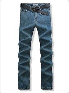 P11410 2015 Wholesale New Big Yards Jeans Stretch Jeans Tall Men MID Waist in Super Long Jeans Size 28-46 118cm-123cm. pictures & photos