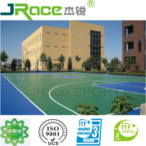 Synthetic Outdoor Basketball Sport Surface Floor pictures & photos