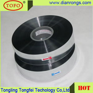 Metallzied Polyester Film 6um MPET Film for Capacitor Use pictures & photos