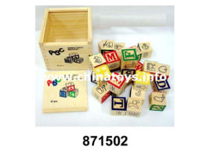 Alphabet Wooden Letter Puzzle Educational Jigsaw Block Toy (871502) pictures & photos