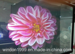3D Transparent Hologram Projector Screen Film for Window Advertising pictures & photos