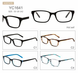 High Quality Fashion Man Style Factory Sell Acetate Optical Frames Eyeglasses Eyewear pictures & photos