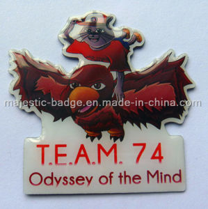 Customized Offset Print Pin (Hz 1001 S027) pictures & photos