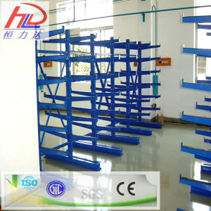 Warehouse Metal Storage Rack with Cantilever pictures & photos