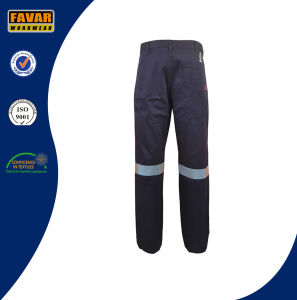 100% Cotton Drill Work Pants with En471 Reflective Tapes pictures & photos