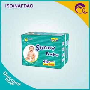 Economic VIP Sunny Baby Diaper with White PE Backsheet