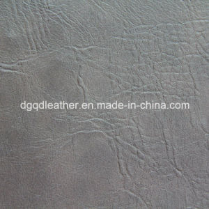 Two-Tone Color Semi-PU Leather (QDL-51364) pictures & photos