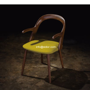 (SL-8107A) Modern Solid Wood Dining Chair for Restaurant Hotel Furniture pictures & photos