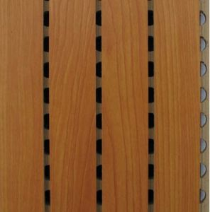 MDF Groove Wooden Acoustic Panel (28/4) pictures & photos