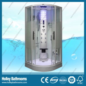 Hot Selling Computer Display Steam Room with Striated Frosted Glass Door (SR117W) pictures & photos