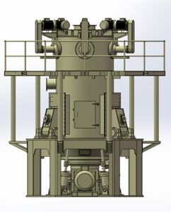 Ultrafine Vertical Grinding Machine