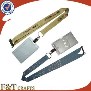 Promotional Kinds of Custom Printed Lanyard with ID pictures & photos