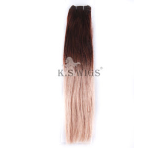 Hotsale Ombre Unprocessed Virgin Malaysian Hair Weft Weaves Wholesale Distributors pictures & photos