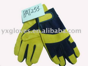 Leather Glove-Split Leather Glove-Working Glove-Safety Glove pictures & photos