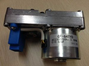 AC Reversible Synchronous Geared Motor for Pellet Feeder pictures & photos