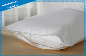 Hotel Cotton Polyester Bedding Pillow Protector pictures & photos