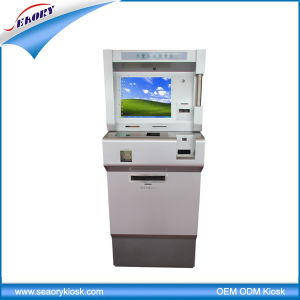 Healt Care Lobby Standing Self Payment Card Dispenser Kiosk pictures & photos