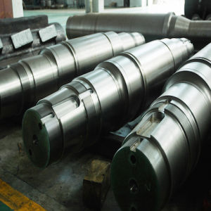 Custom Large Steel Casting CNC Machined Shaft pictures & photos