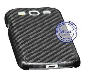 Best Quality Real Carbon Fiber Cellphone Case for Samsung Galaxy S3 pictures & photos