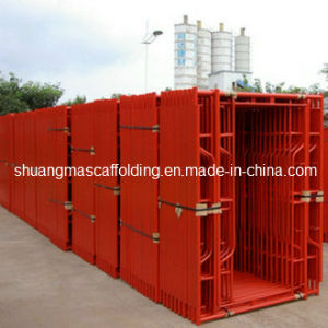 Factory Supplying Construction Material Mobile Walk Thru Steel H Frame Scaffolding pictures & photos