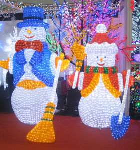 Holiday Decorative LED Light Christmas Snowman pictures & photos