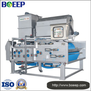 Belt Type Press Filter Dewatering Machine in Wastewater Treatment pictures & photos