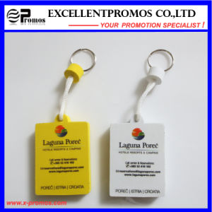 Hot Selling Promotion PU Floater Keychain (EP-S7311) pictures & photos