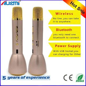 2016 Newest Wireless Bluetooth Handset Microphone Speaker for KTV pictures & photos