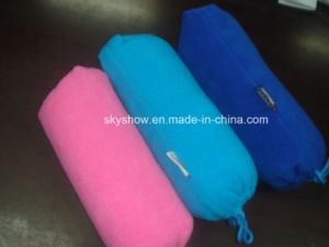 Simple Polar Fleece Blanket with Bag (SSB0203) pictures & photos