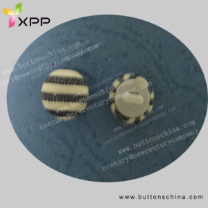 Aluminum Cover Button with Plastic Bottom pictures & photos