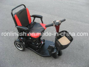300W Foldable/Folding Mobility Scooter/Disabled Scooter/4 Wheel Scooter, Removable/Detachable Battery CE pictures & photos