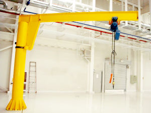 Jib Crane Used in Workshop Warehouse and Yard pictures & photos