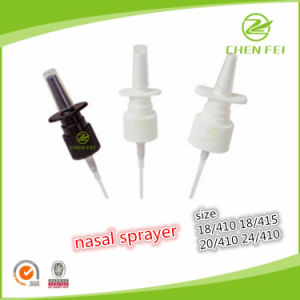 OEM Size 18/410 Plastic Nasal Pump Sprayer for Liquid Medicine pictures & photos