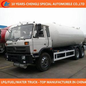 25cbm LPG Bobtail Truck 6X4 LPG Filling Truck for Sale pictures & photos