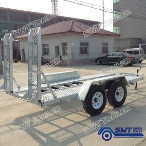 14X6 Plant Trailer for Excavating and Loading (SWT-PT146) pictures & photos