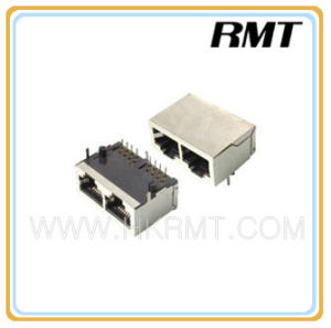 RJ45 Connector (RMT09-RJ45-254) in Stock pictures & photos