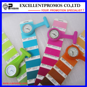 Hot Sale Good Quality Silicone Clip Nurse Watch (EP-W58409) pictures & photos