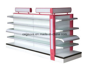 Hot Sale Plain Supermarket Shelf for Cosmetic pictures & photos